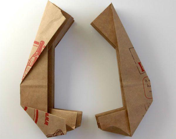 Бра из бумаги в технике оригами шаг 6 фото