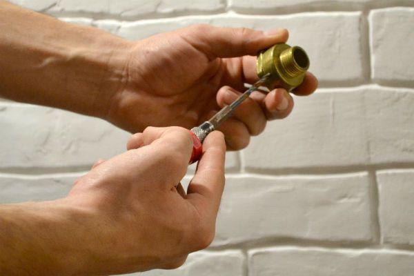 Бра из металлических труб шаг 1 фото