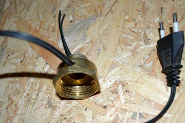 Бра из металлических труб шаг 4 фото