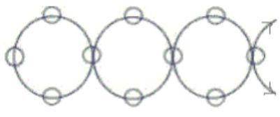 Бусы Радуга схема плетения фото