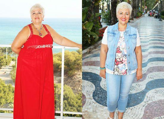 Галина Кузнецова фото до и после похудения