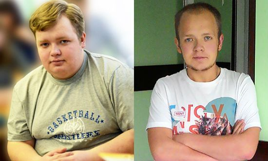 Михаил Дмитриев фото до и после похудения