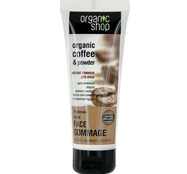 Organic Shop гоммаж для лица «Утренний кофе» фото