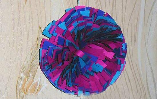 Помпон из бумаги 6 шаг 7 фото