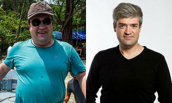 Сергей Доля фото до и после похудения