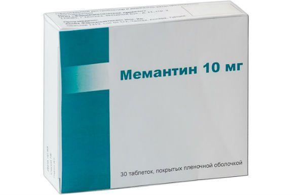 Мемантин фото