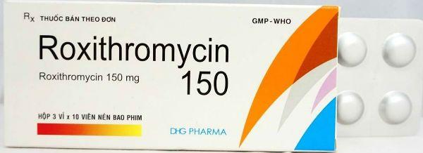 Рокситромицин фото