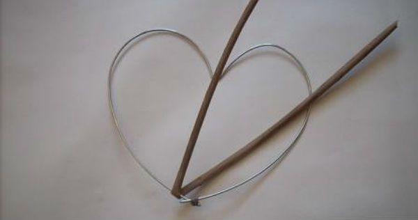 Сердце из газетных трубочек шаг 2 фото
