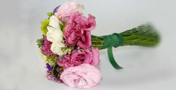 Свадебный букет из полевых цветов шаг 3 фото