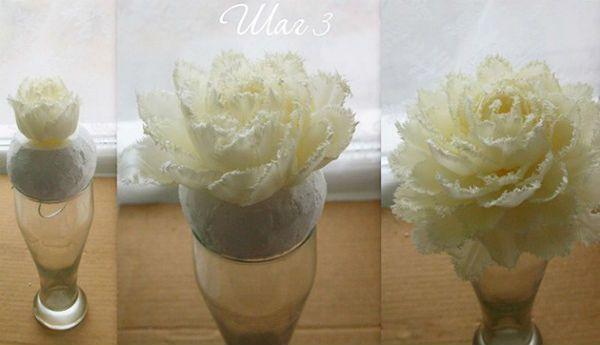 Свадебный букет из тюльпанов шаг 4 фото