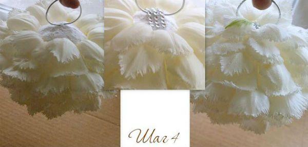 Свадебный букет из тюльпанов шаг 5 фото