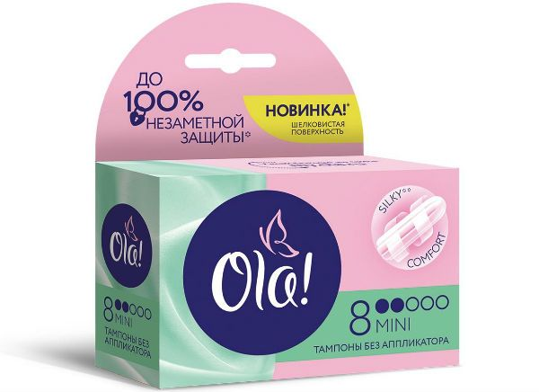 Ola! Mini тампоны для девочек фото