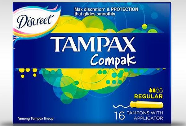 Tampax Compak regular фото