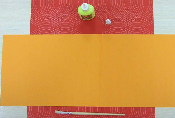Веер из цветной бумаги детский фото