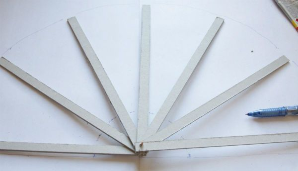 Веер из ткани шаг 6 фото
