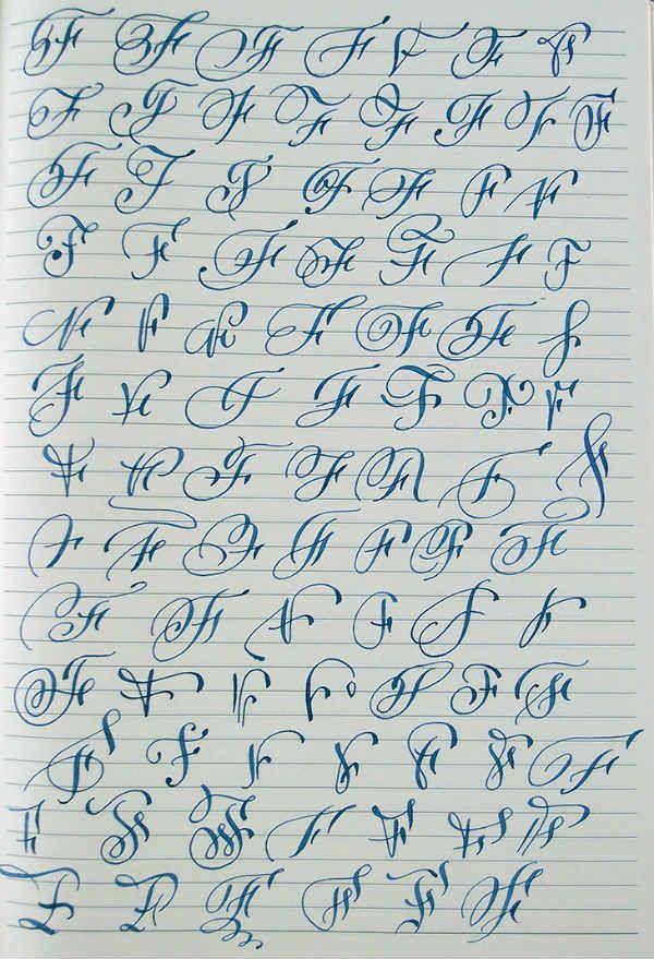 Английский алфавит буква F фото