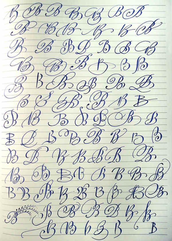 Английский алфавит буква B фото