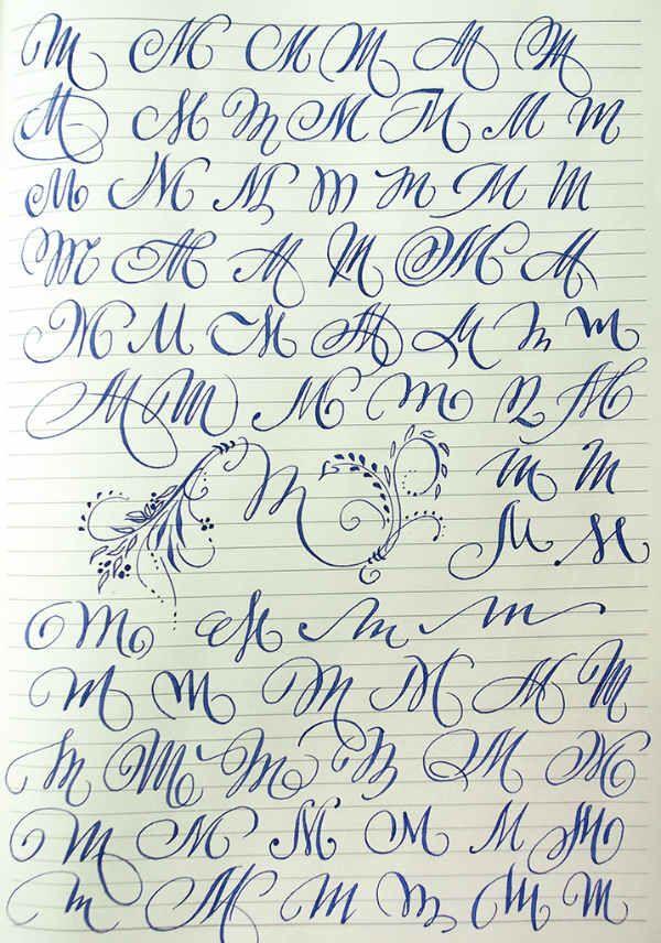 Английский алфавит буква m фото