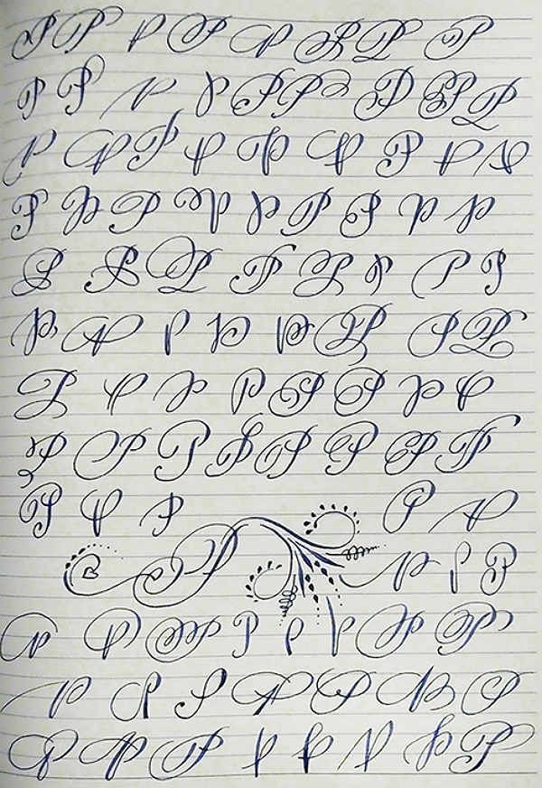 Английский алфавит буква P фото