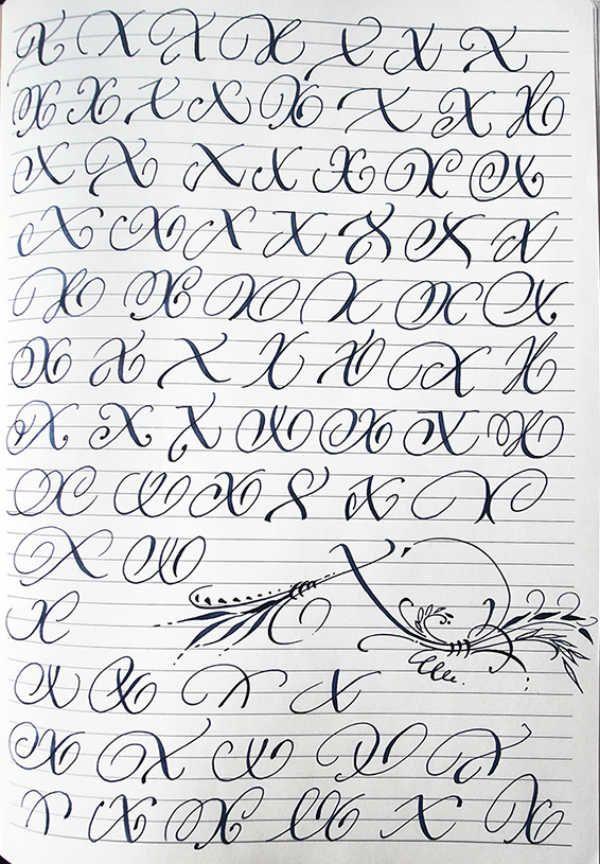 Английский алфавит буква X фото
