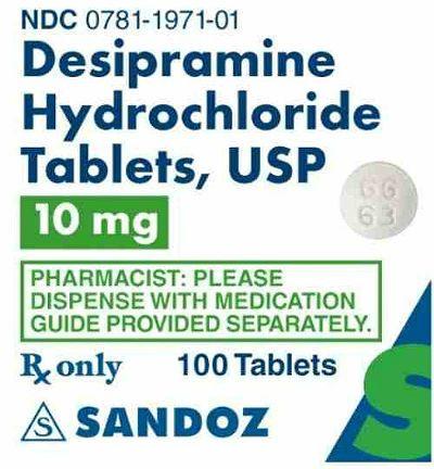 Дезипрамин фото
