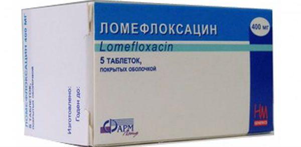 Ломефлоксацин фото