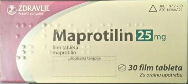 Мапротилин фото