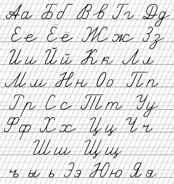 Русский алфавит для 1 класса фото