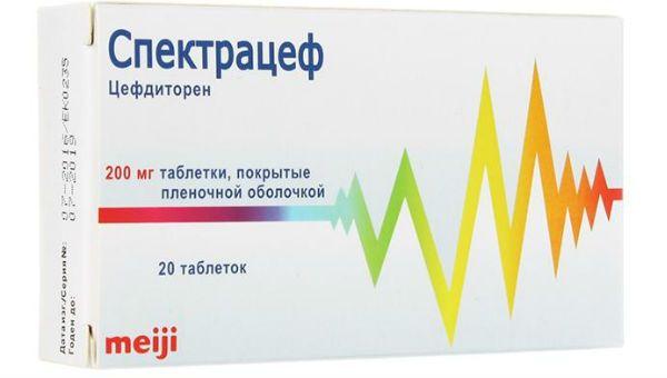 Спектрацеф фото