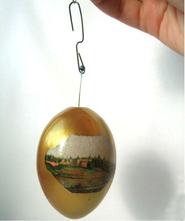 Декупаж яйца шаг 14 фото