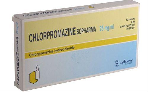 Хлорпромазин фото