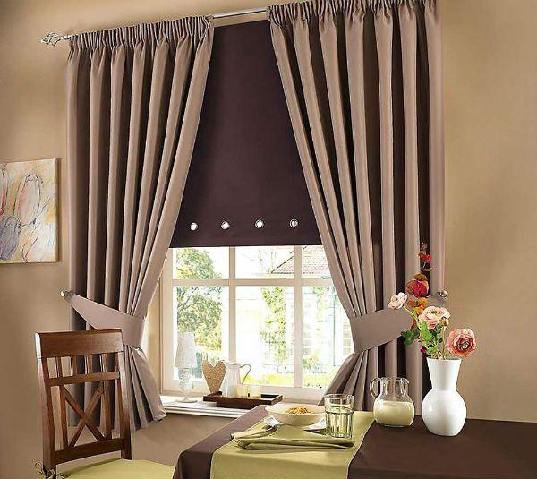 Оформление окна на кухне в стиле минимализм вариант 5 фото