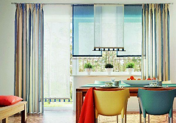 Оформление окна на кухне в восточном стиле вариант 10 фото