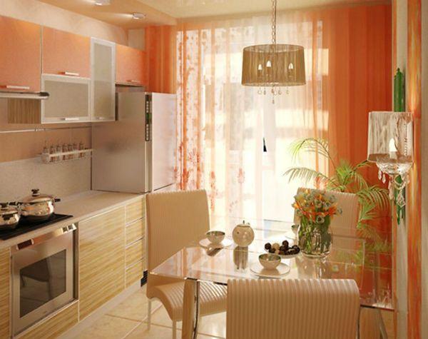 Оформление окна на кухне в восточном стиле вариант 12 фото