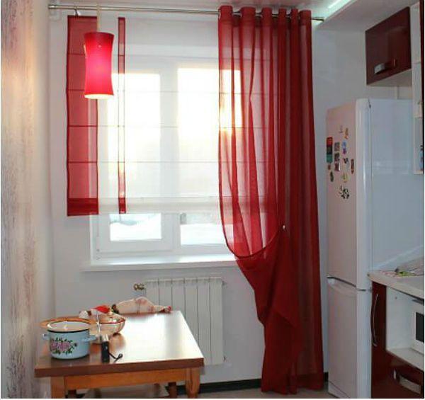 Оформление окна на кухне в восточном стиле вариант 15 фото