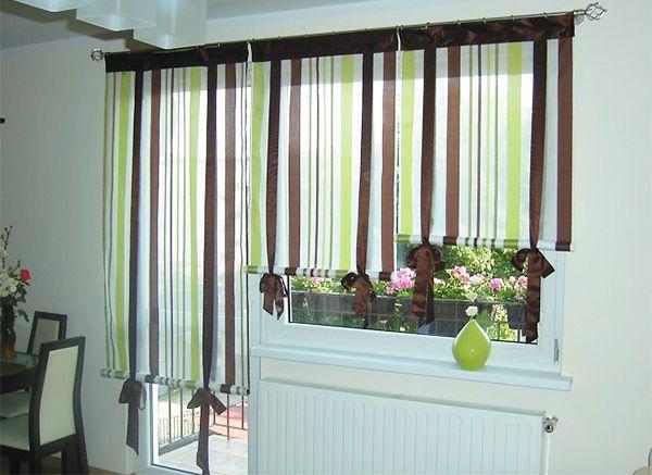 Оформление окна на кухне в восточном стиле вариант 5 фото