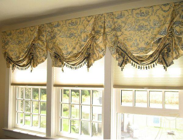 Оформление окна на кухне в восточном стиле вариант 8 фото