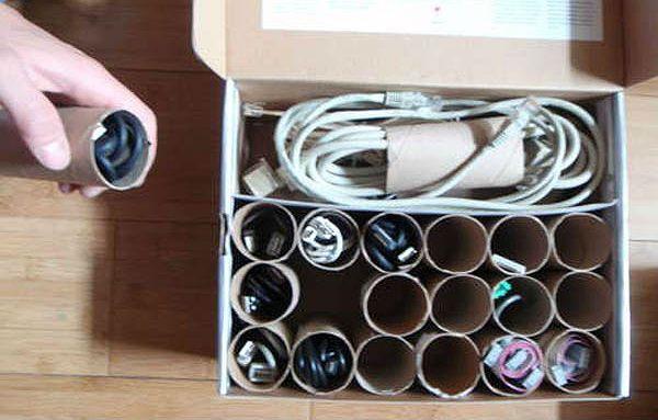 Органайзер для электрических проводов фото