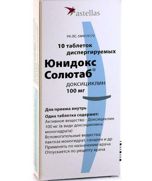 Юнидокс-Солютаб фото