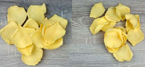 Декор свадебных бокалов лепестками шаг 17 фото