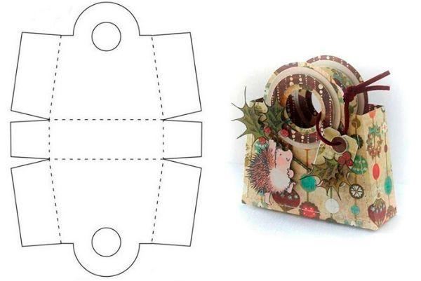 Коробка для упаковки подарка 4 фото