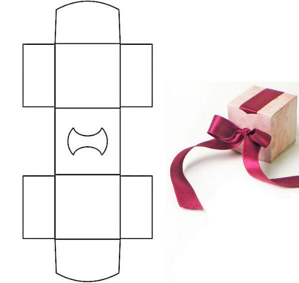 Коробка для упаковки подарка 5 фото