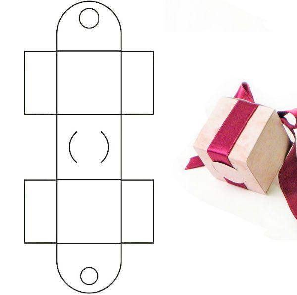 Коробка для упаковки подарка 6 фото