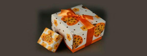 Коробка оригами фото