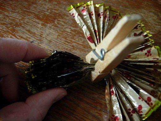 Новогодняя игрушка шаг 3 фото