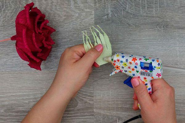 Объемные розы с сюрпризом шаг 34 фото