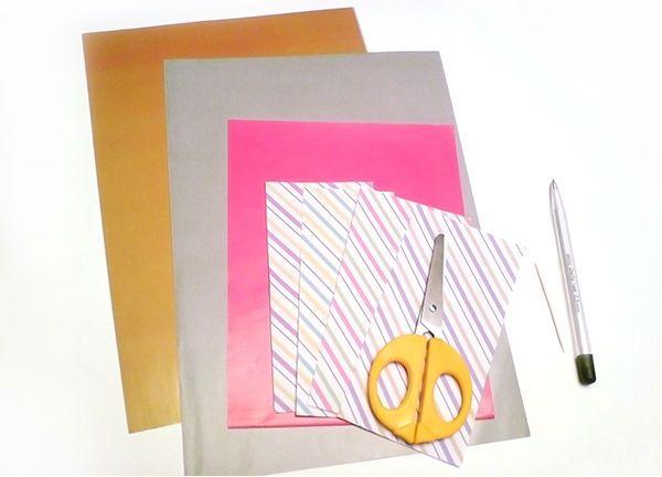 Открытка с объемными свечами материалы фото