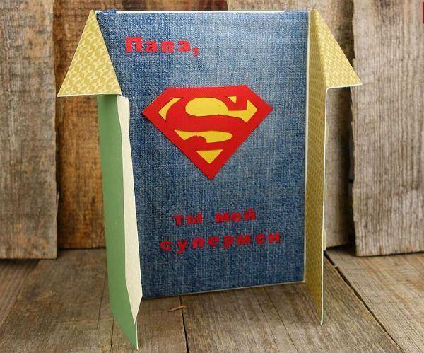 Открытка супермен фото