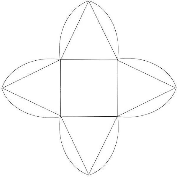 Схема упаковки пирамида фото