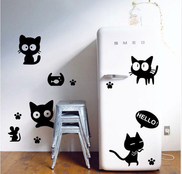 Трафарет для холодильника фото
